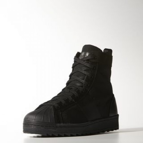 Adidas Superstar Black Boots